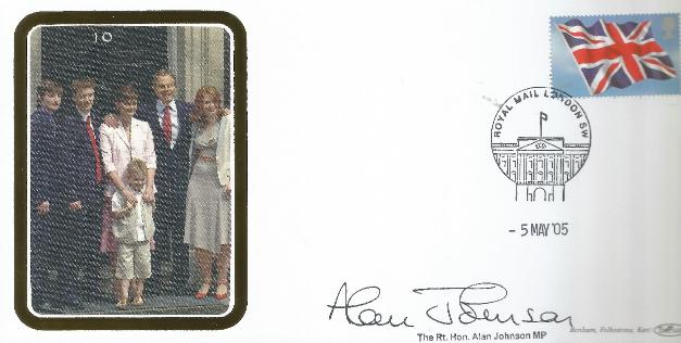2005 General Election signed by Alan Johnson