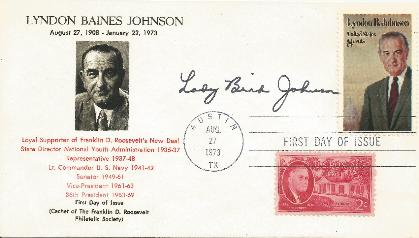 Lady Bird Johnson - Wife