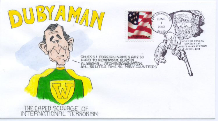 Dubyaman  Cartoon #2