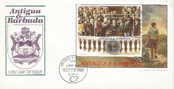Antigua 11-22-88 JFK Inaugu
