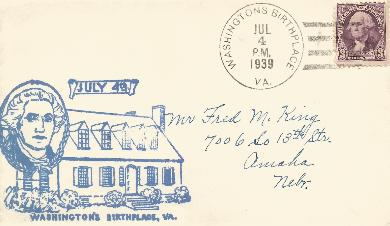 39-07-04 Washington birthplace