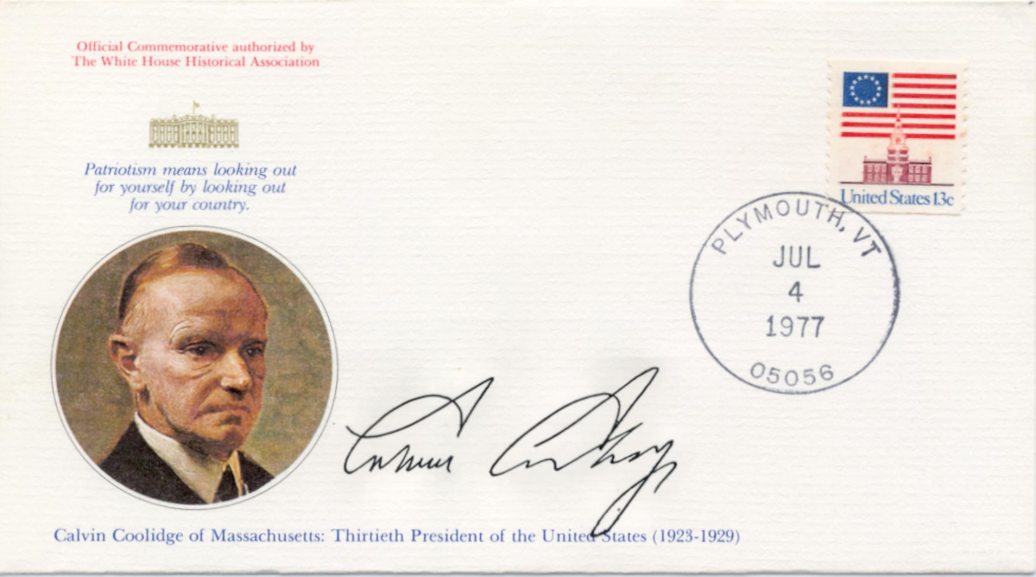 Coolidge Birthday 77-07-04