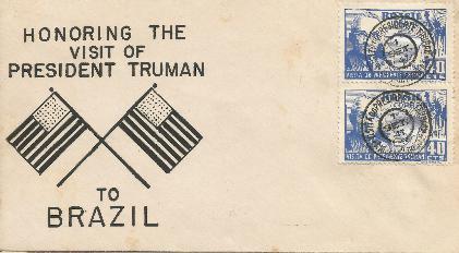 Brazil Truman Visit #1