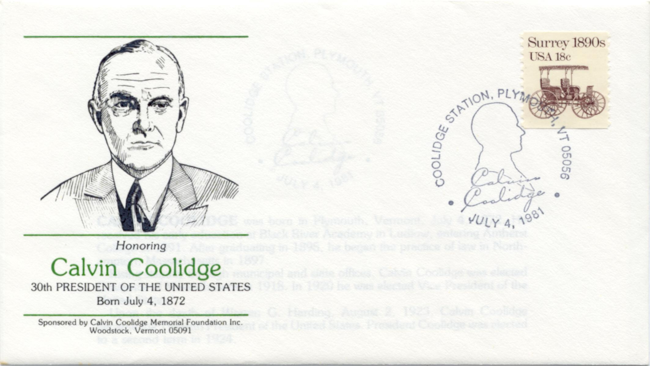 Coolidge Birthday 81-07-04 #2