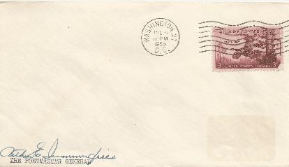 Arthur Summerfield - Postmaster General 1