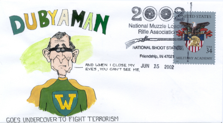 Dubyaman cartoon #3