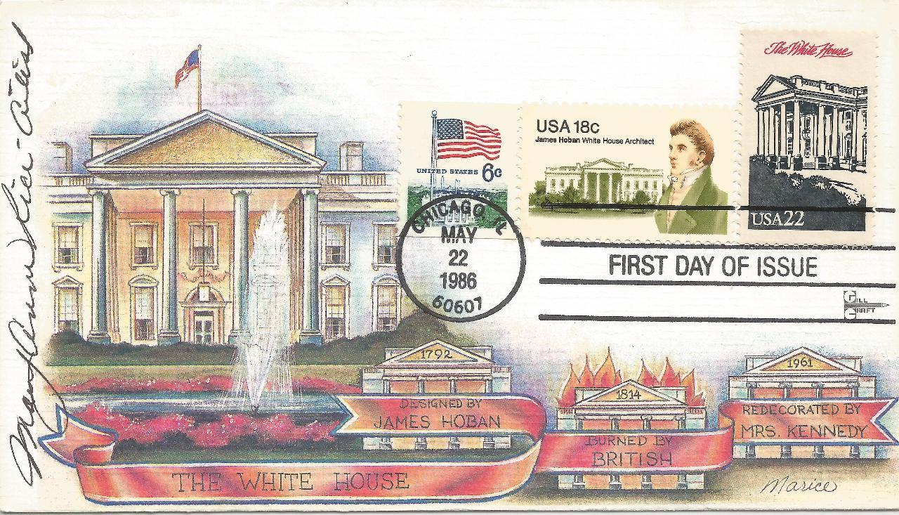Ameripex 1986 White House FDC