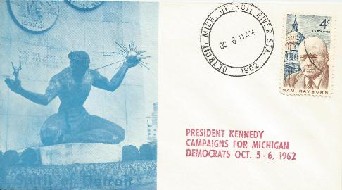Kennedy campaigns for Michigan #3