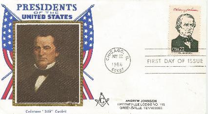 Andrew Johnson 86-05-22 FDC