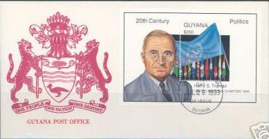 Guyana UN Charter SS FDC