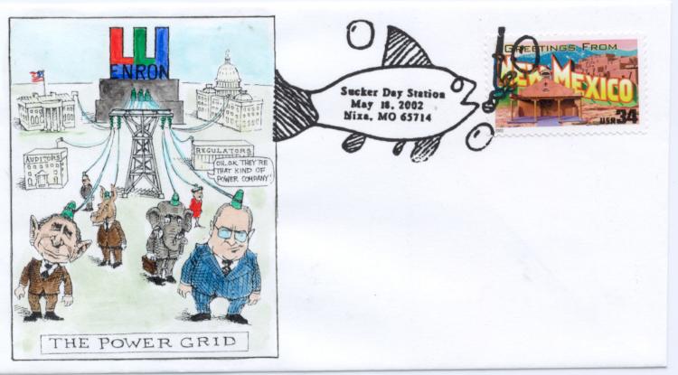 The Power Grid Cartoon
