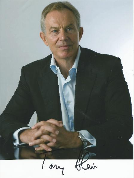 PH101 Tony Blair Autographed Photo