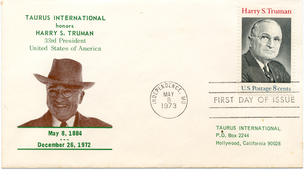HST Memorial FDC #16