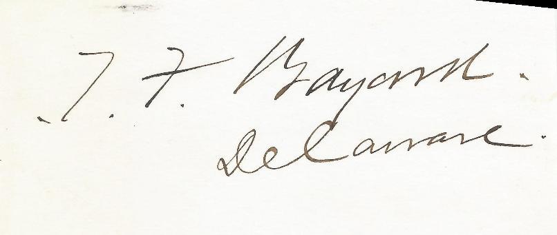 Thomas Bayard, Secretary of State (Cleveland, Harrison)