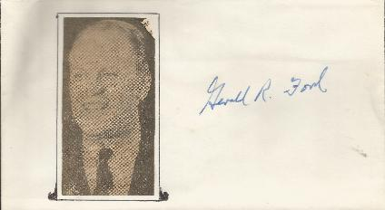 Gerald R Ford - President