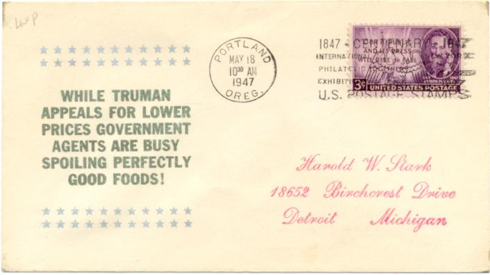 """while Truman Appeals...:"""