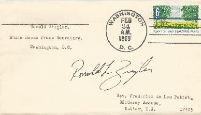 Ron Ziegler - Press Secretary