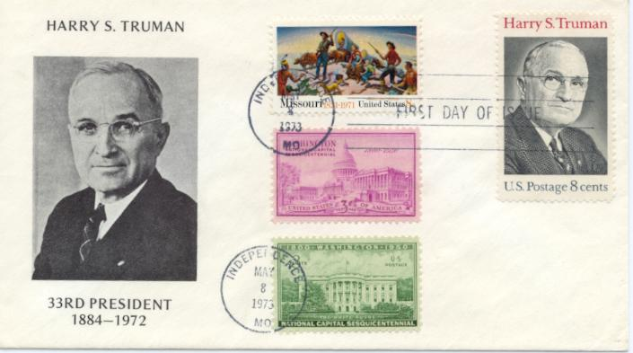 HST Memorial FDC #19