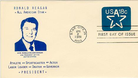 Star Envelope FDC