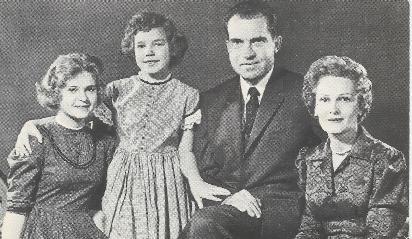 1960 Nixon Family