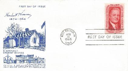 Hoover Memorial Cover 11a
