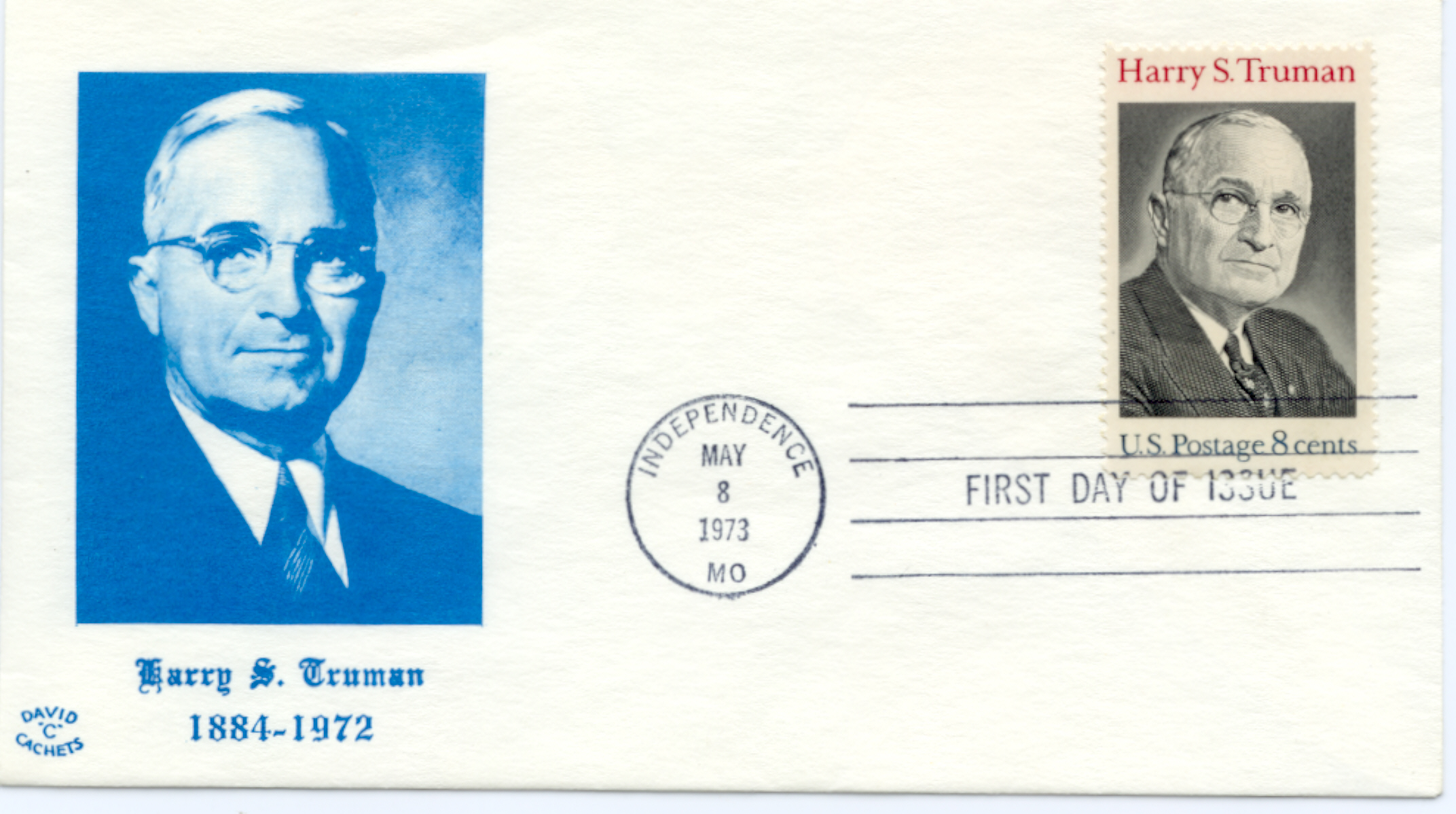 HST Memorial FDC #14
