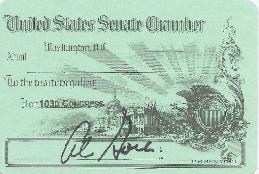Al Gore - Vice President Senate Pass