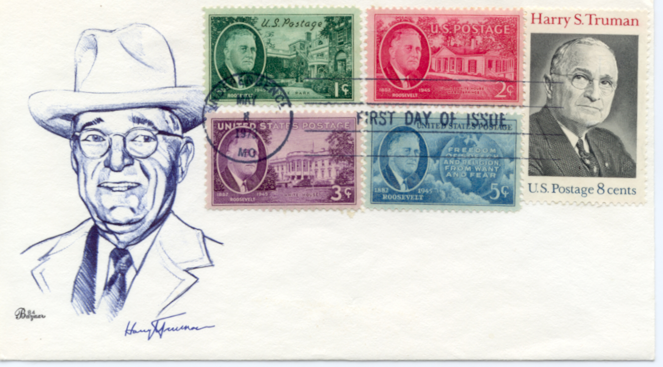 HST Memorial FDC #9