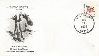 DDESEC 79-10-14 20th Anniv IKE Library
