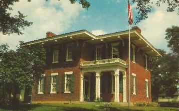 U S  Grant Home Postcard