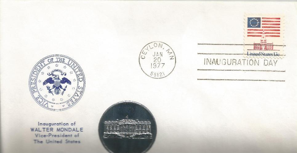 vWFM-17 Mondale Inaugural - Medallion
