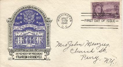 45-06-27 FDR Memorial 3cent #1