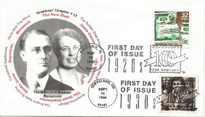 98-09-10 FDR & Eleanor FDC #1