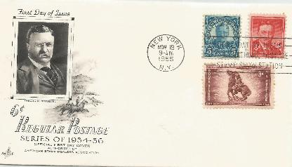 T Roosevelt 6 cent FDC #2