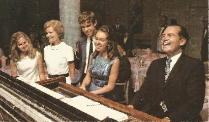 1968 Nixon Family