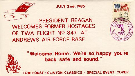 Welcomes Hostages