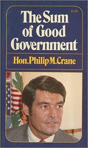 Phil Crane autographed book