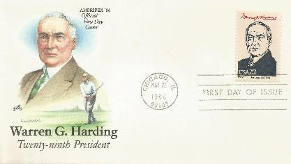 Harding Ameripex 86-05-22 Artcraft/Color
