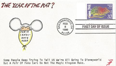 Year of the Rat FDC