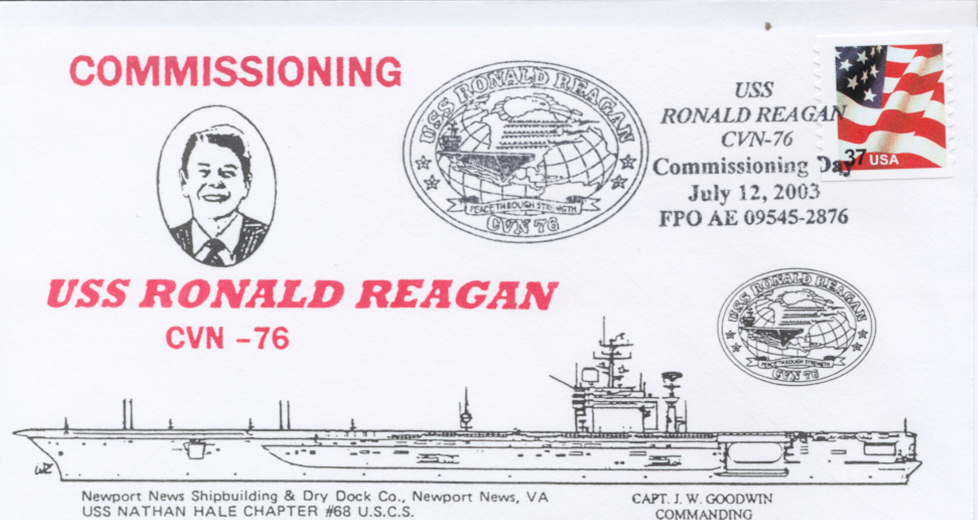 Reagan CVN-76 Commissioned #4