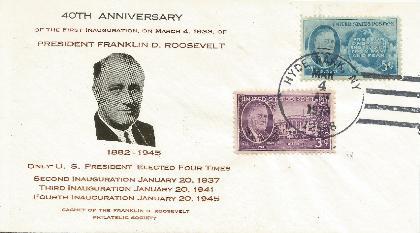 73-03-04 FDR Inaugural Anniv