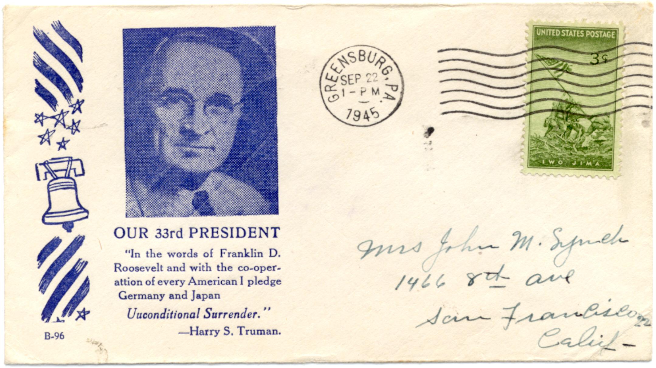 Truman Quote #1