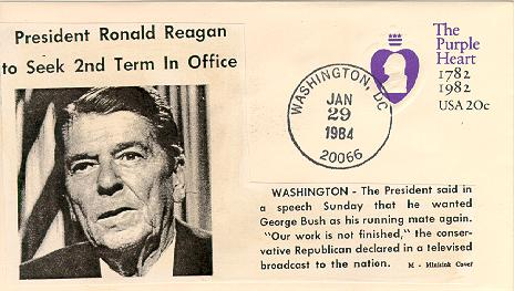 Reagan to Seek 2nd Term