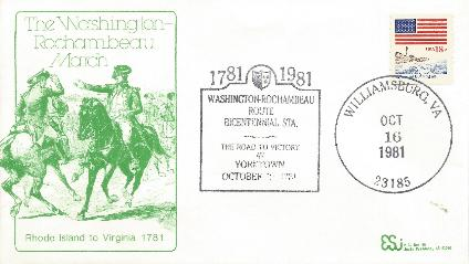 Set of 9 Washington Rochambeau March