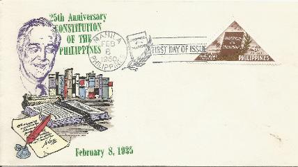 Philippines Constitution FDC