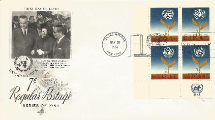 64-05-29 LBJ at UN FDC