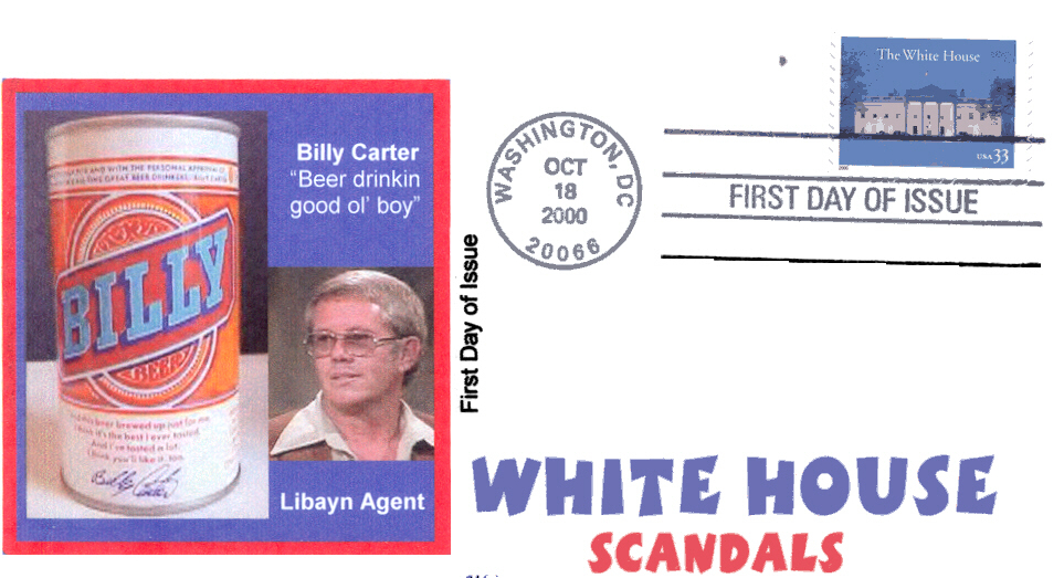 Billy Beer White House FDC