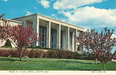 HST Library Postcard FDC