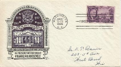 45-06-27 FDR Memorial 3 cent #2