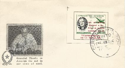 Ecuador Overprint #4